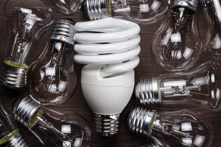 Image of multiple lightbulbs
