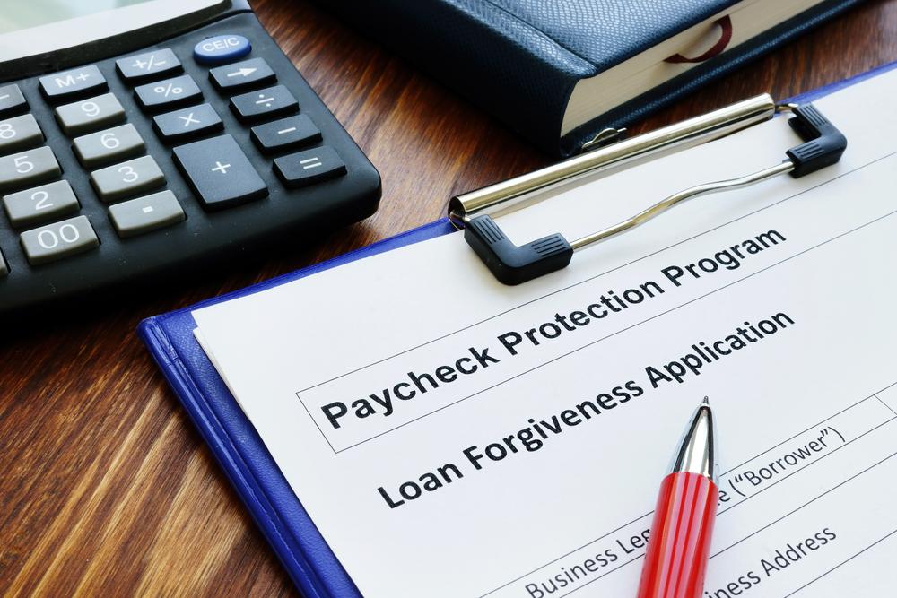 PPP loan forgiveness paperwork
