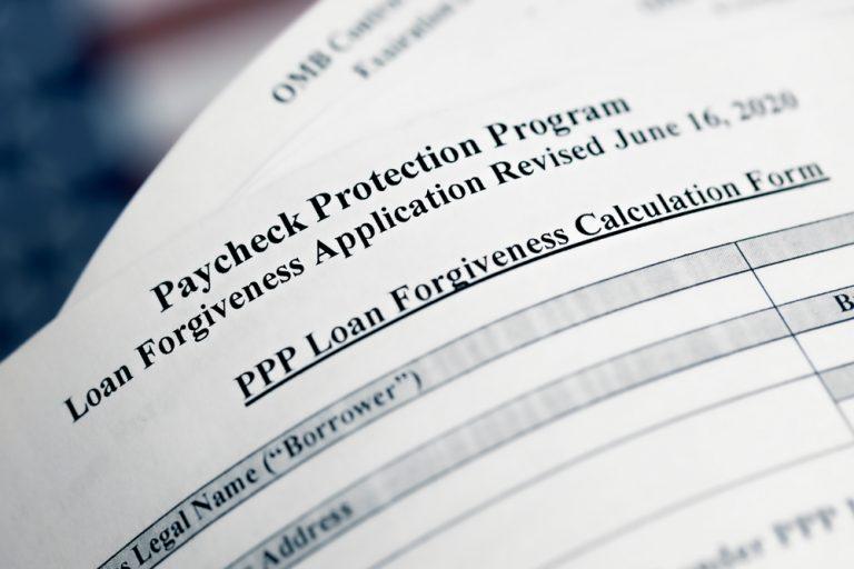PPP loan form