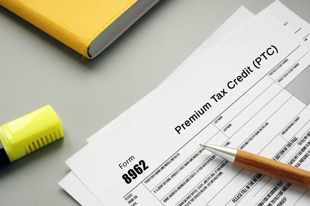 Premium Tax Credit form