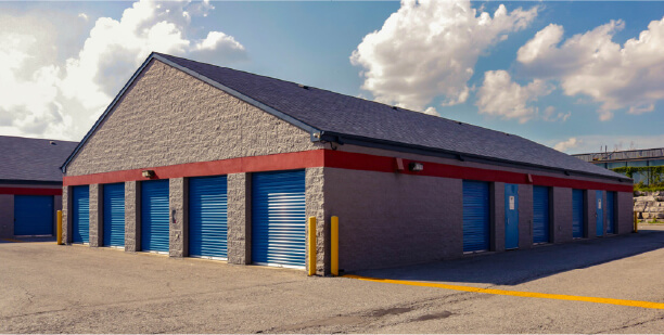 self storage facility being analyzed for cost segregation